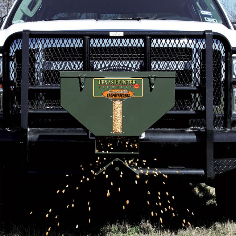 Texas Hunter Products 50# Low Profile Road Feeder w/ Wireless Remote